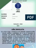 DIAPOSITIVAS ENFERMEDADES DE LAS UÑAS