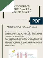 Anticuerpos Policlonales y Monoclonales (1)