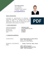 Cv Muñoz Gongora Carolina