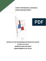 Programación Andaluciía Granada