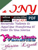 TONY Yulissa Karencitha Castro