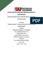 Formulacion y Proyectos de Invercion Dennis, Astrit