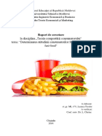 Cercetare despre fast food
