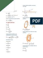 Fórmulas Física Serway