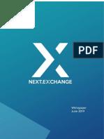 NEXT Exchange Whitepaper 2 0