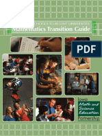 Math Transition Guide