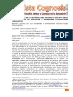ESTRÉS LABORAL EN LOS DOCENTES DEL CIRCUITO 03 DISTRITO 13D11 DE LA ZONA 04 DE EDUCACIÓN Y ESTRESORES PSICOSOCIALES PREVALENTES