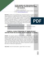Articulo 1 Caracterizacion de Residuos HINAVA