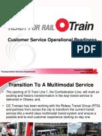 LRT Customer Service Operational Readiness, June 19, 2019