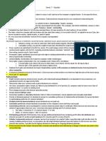 Unit 1 - Equities Summary