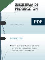 Subsitema de Produccion