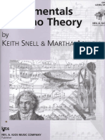 Fundamentals of Piano Theory Level 1