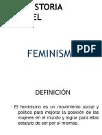 Historia Del Feminism o