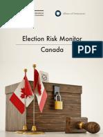 Election Risk Monitor Canada (06.2019)