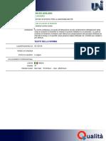 UNI ISO 8258-2004 Sostituito Da 7870-2