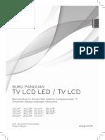 Panduan Tv LED LCD merk LG