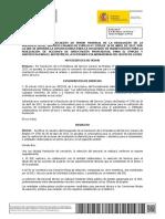 Documento Convocatoria Castellano