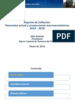 Reporte de Inflacion Marzo 2019 Presentacion 1