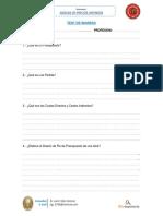 01.- Test - Analisis de Precios Unitarios - 2019