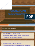Micro Planning Pusk. Baru