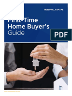 Personal Capital First Time Home Buyers Guide