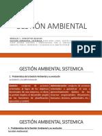 GESTION AMBIENTAL SISTEMICA