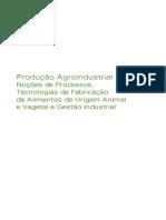 produção agroindustrial