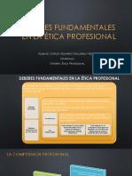 Deberes Fundamentales en La Ética Profesional
