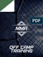 MMA Off Camp Training