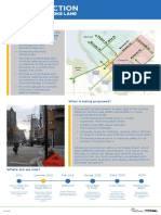 Drake Street Bikeway Open House Information Displays June 2019