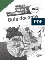 Gd Avanza Practicas Del Lenguaje 6