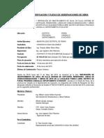 Acta de Verificacion y Pliego de Observ. Pueblo Libre