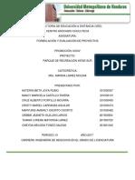 Formulación y Evaluac. Proy. II Revision Parque Intae Sur UMH