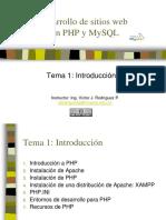 1. Introduccion a Php Vj