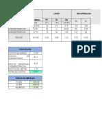 Ley Corte Excel