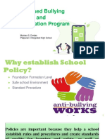 p2ihs Bullying Policy