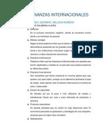 Taller Finanzas Internacionales Mely y Gabo