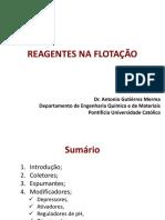Reagentes de Flotação