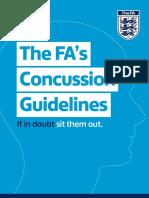 The Fa Concussion Guidelines 2015