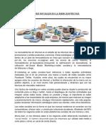 Las Redes Sociales en La Mercadotecnia (1)