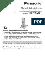 Panasonic kx-tga101.pdf