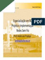 2 RCPI - Redes Sem Fio 2013_01 - I Conceitos Básicos