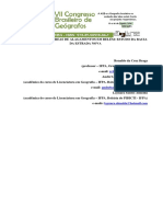 Urbanização e Áreas de Alagamentos Em Belém_ Estudo Da Bacia Da Estrada Nova