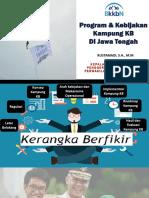 Materi Kampung KB Jawa Tengah