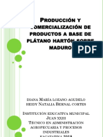 Producción y Comercialización de Productos a Base De