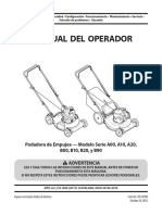 Manual del operador Yard Machines