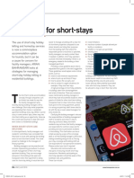 Shortstay-Airbnb Management Strategies in Residential Building