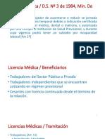Licencia Médica y Subsidio