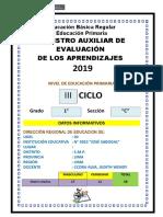 Boleta Informativa Primaria i Bimestre 2019