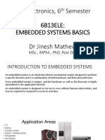 Embedded Systems Basics_Lecture Notes_DrJinesh
